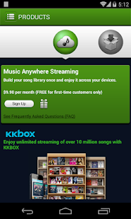 Music Anywhere - screenshot thumbnail