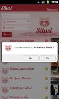 Screenshot of Situsi - Flirt with Facebook