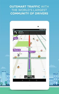 Waze Social GPS Maps & Traffic- screenshot thumbnail