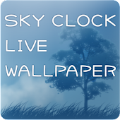 SKY CLOCK LIVE WALLPAPER