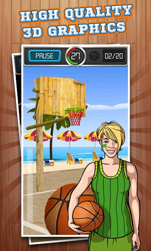 Basketball Shots 3D- screenshot