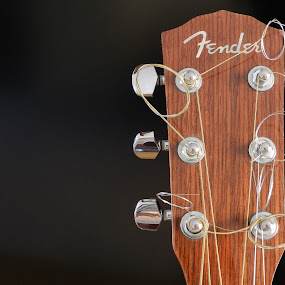 Guitar by Andrea Magnani - Artistic Objects Musical Instruments ( music, fender, still life, guitar, instrument )