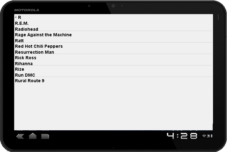 Check1Two Music Jukebox- screenshot