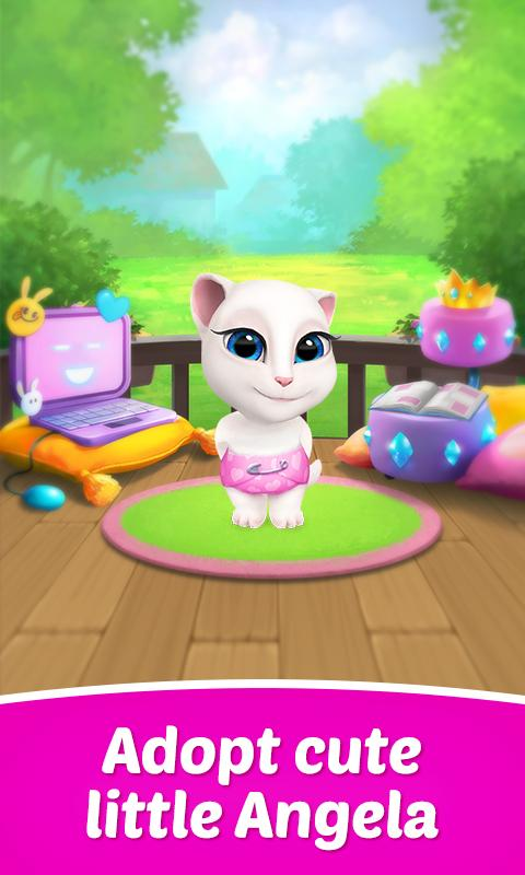 My Talking Angela v1.4.2 Mod (Unlimited Coins/Diamonds) [Virtual Pet]