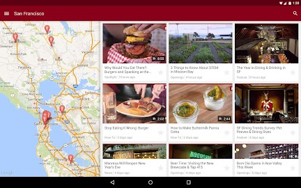 Zagat Screenshot 1
