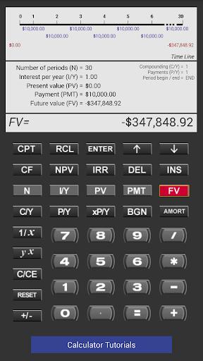 Pearson Financial Calculator