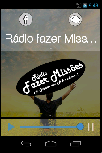 Web Rádio Fazer Missões