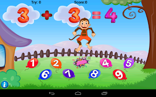 Screenshot of Math Addition Game For Kids