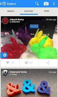 Thingiverse Screenshot