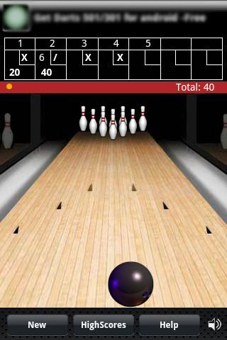 Finger Bowling - screenshot