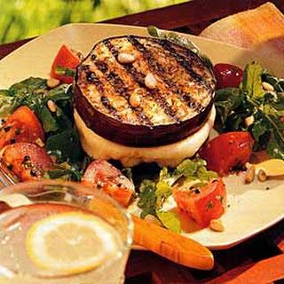 Grilled Eggplant and Mozzarella Sandwiches