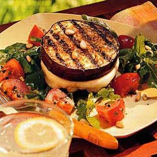 Grilled Eggplant and Mozzarella Sandwiches.