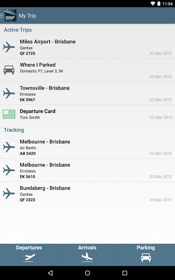 Brisbane Airport- screenshot
