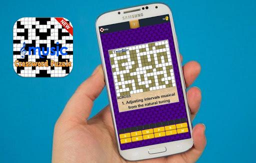 Music Crossword Puzzle