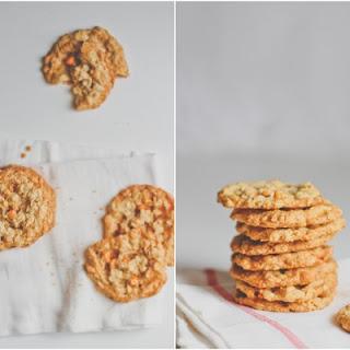 Bourbon Butterscotch Oatmeal Cookies