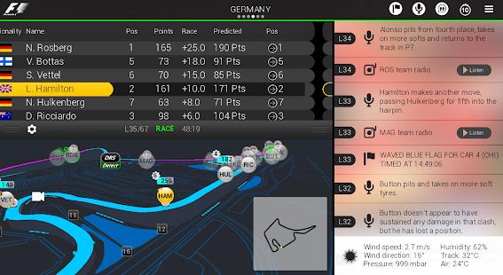 Official F1 ® App - screenshot thumbnail