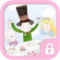 Alice teaparty protector theme