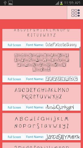 Cute Fonts Free