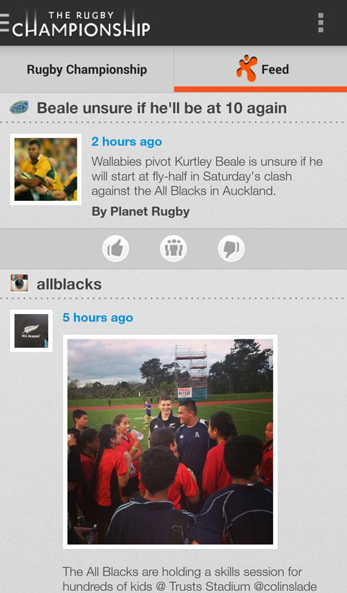 The Rugby Championship- screenshot