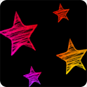 Stars Neon livewallpaper icon