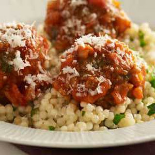 Baked Meatballs In Tomato-lime Sauce.