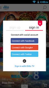 Ditto TV: LiveTV,Movies,Videos - screenshot thumbnail