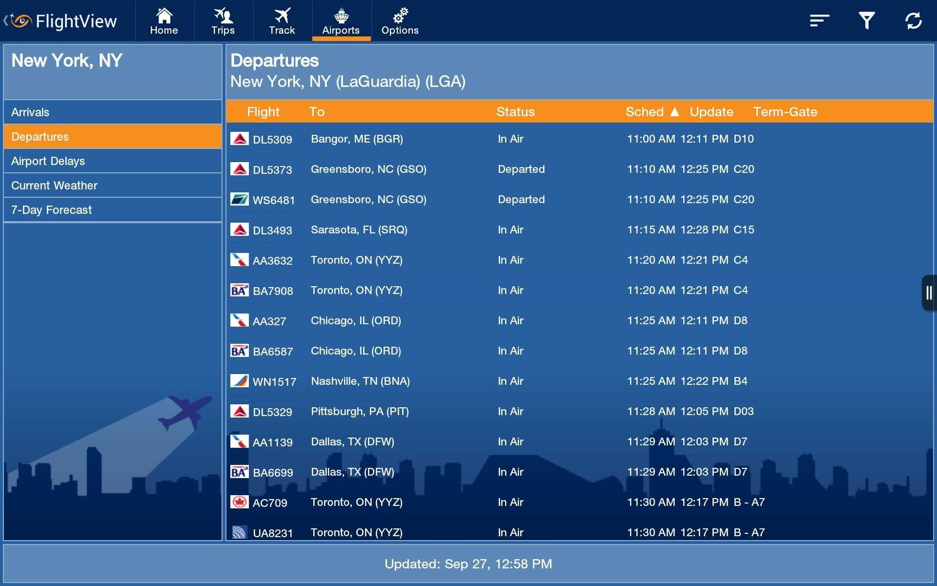FlightView Elite FlightTracker screenshot #15