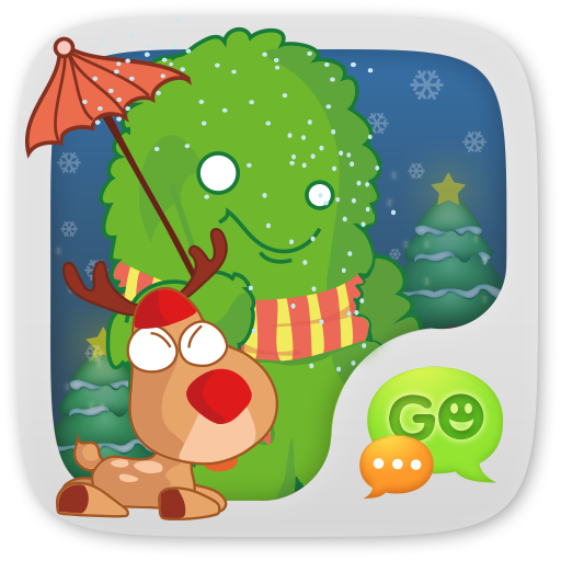 GO短信加強版小緑怪表情貼圖 娛樂 App LOGO-APP試玩