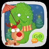GO SMS Little Green STICKER 1.1