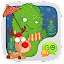 GO SMS Little Green STICKER 1.1 APK for Android