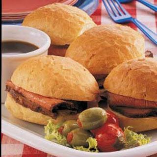 Sirloin Sandwiches.