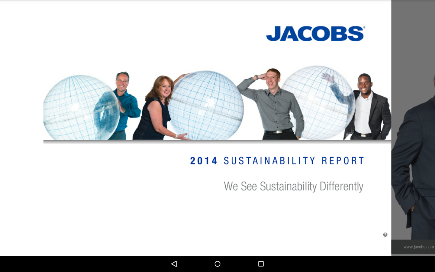 Jacobs Annual Reports- screenshot