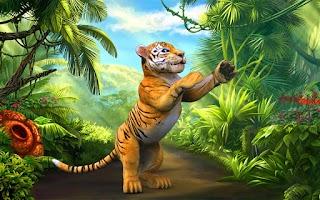 Screenshot of Tiger Alarm!