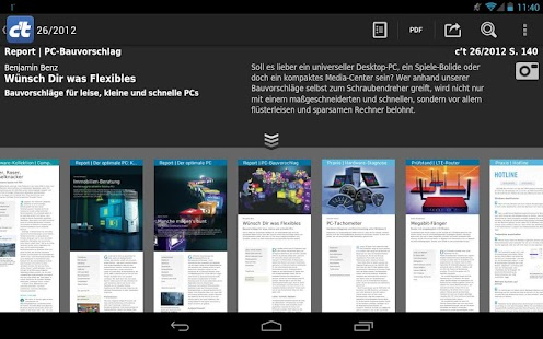 c't Magazin – Miniaturansicht des Screenshots