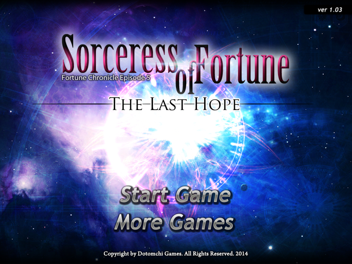 Sorceress of Fortune- screenshot