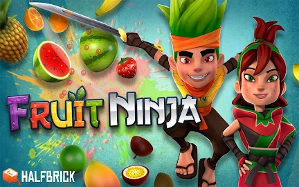 Fruit Ninja Free Screenshot 1