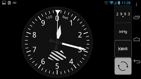 Sensitive Altimeter - screenshot thumbnail