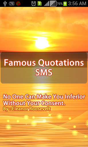 Famous Quotations SMS