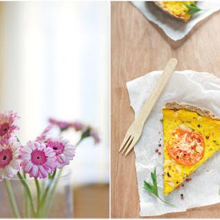 Hokkaido Squash and Celeriac Tart