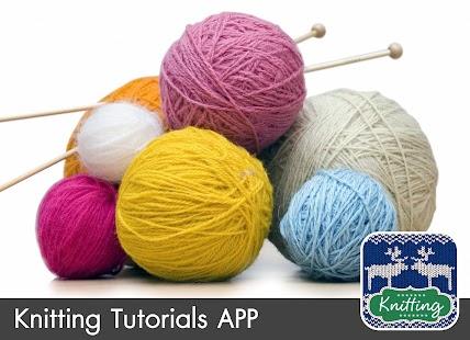 Knitting Tutorials FREE