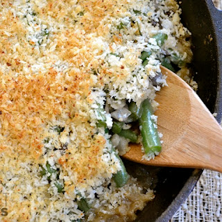 Green Bean & Mushroom Casserole