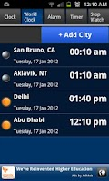 Screenshot of World Clock