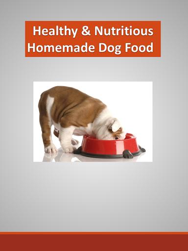 Dog Food Healthy Nutritious