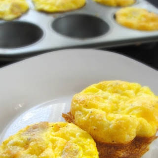 Chicken Sausage and Egg Breakfast Cups.