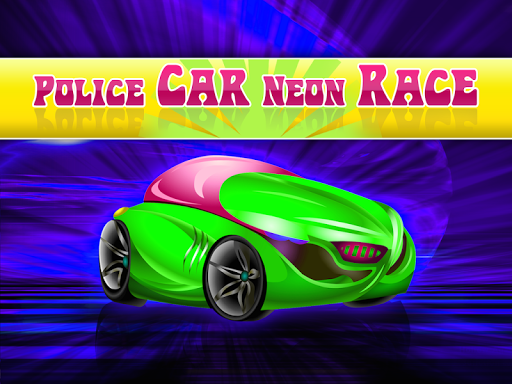 Police Neon Car Racing