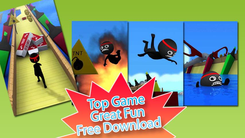 Stickman Run - screenshot