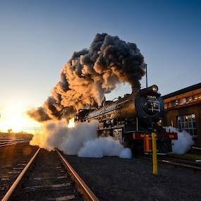 Tracking Steam by Rob Vandongen - Transportation Trains (  )