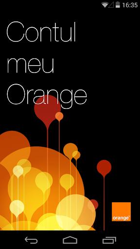Contul meu Orange