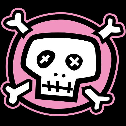 红粉骷髅动态壁纸 個人化 App LOGO-APP試玩