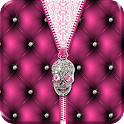 ★ Punk Skull Theme Zipper ★ icon